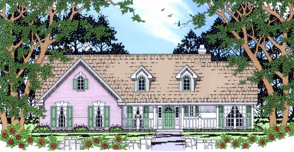 Country House Plan 79252 Elevation