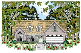 Country House Plan 79253 Elevation