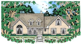 Country House Plan 79254 Elevation