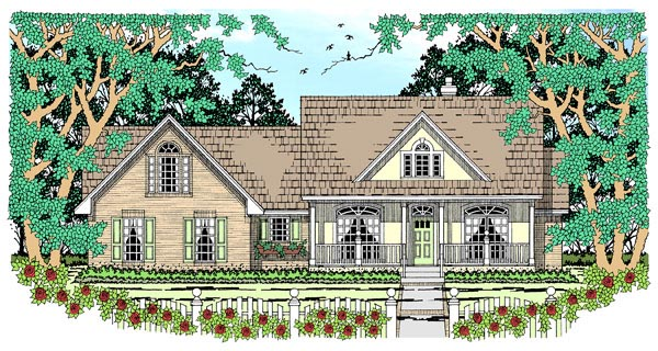 Country House Plan 79255 Elevation