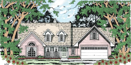 Country House Plan 79257 Elevation