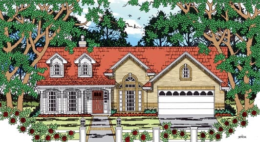 Country House Plan 79261 Elevation