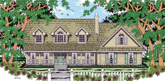Country House Plan 79265 Elevation