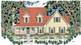 Country Farmhouse House Plan 79267 Elevation