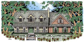Cape Cod Country House Plan 79271 Elevation