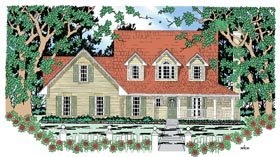 Country House Plan 79274 Elevation