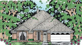 Traditional House Plan 79277 Elevation