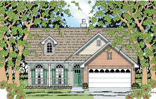 Country House Plan 79281 Elevation