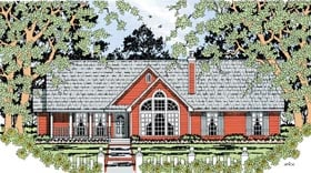 Country House Plan 79282 Elevation