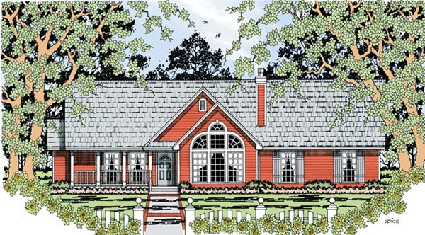 Country House Plan 79285 Elevation