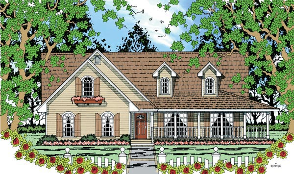 Country House Plan 79286 Elevation