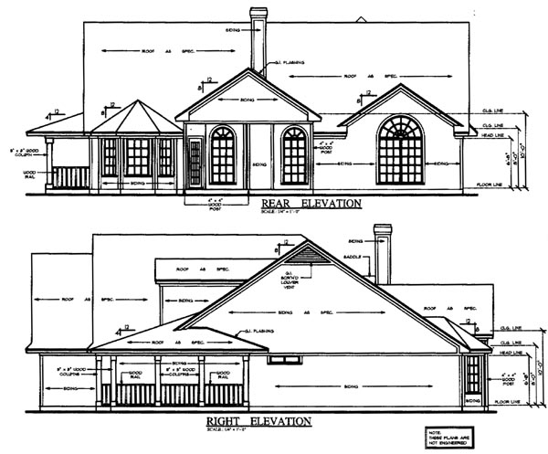 Country House Plan 79286 Rear Elevation