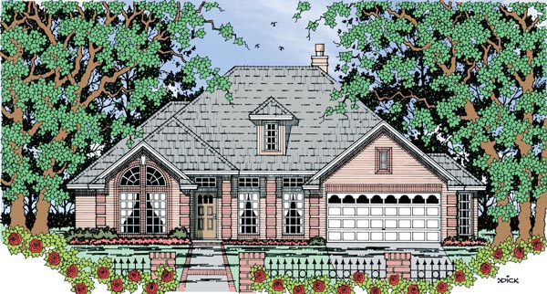 Traditional House Plan 79287 Elevation