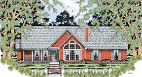 Country House Plan 79292 Elevation