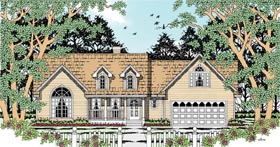 Country House Plan 79293 Elevation