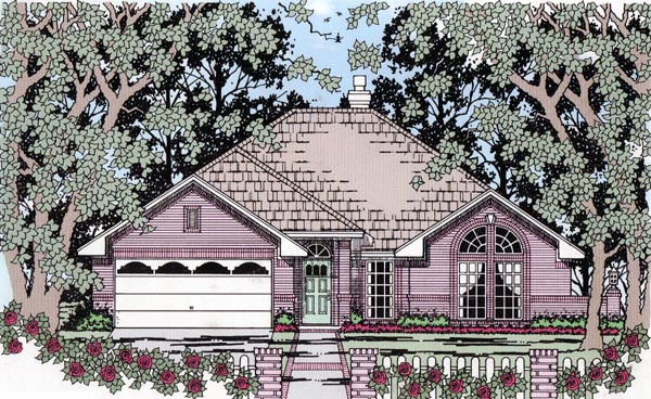 Traditional House Plan 79299 Elevation