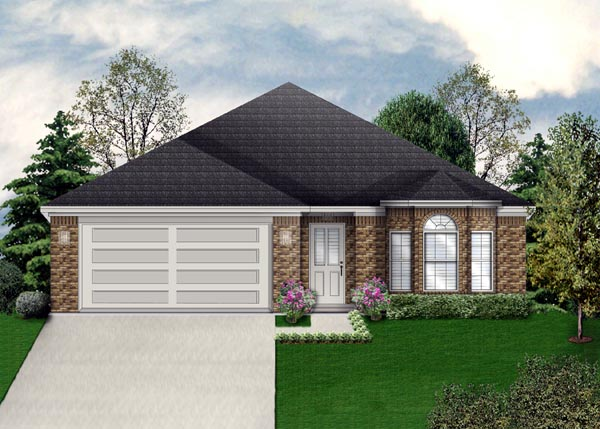 Traditional House Plan 79302 Elevation