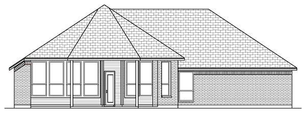 Craftsman Traditional House Plan 79305 Rear Elevation