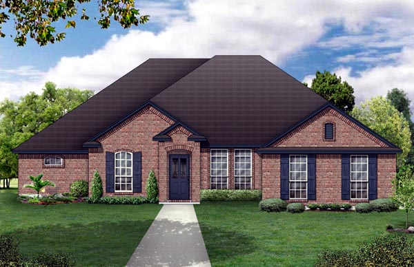 Traditional House Plan 79307 Elevation
