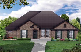 Traditional House Plan 79311 Elevation