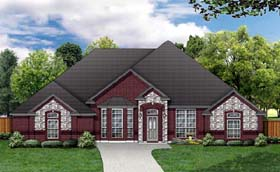 Traditional House Plan 79315 Elevation