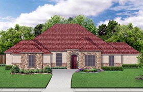 Plan Number 79326 - 3087 Square Feet