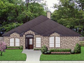 Traditional House Plan 79327 Elevation