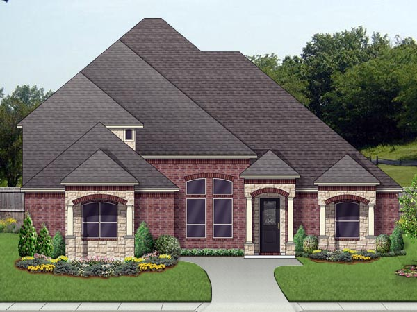 Mediterranean Traditional House Plan 79333 Elevation