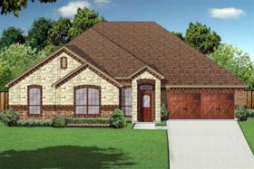 Traditional House Plan 79338 Elevation