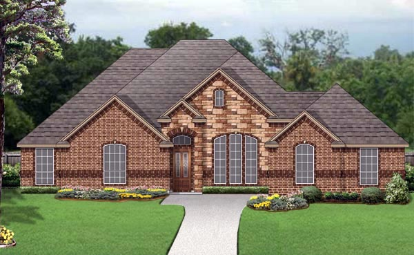 Traditional House Plan 79340 Elevation
