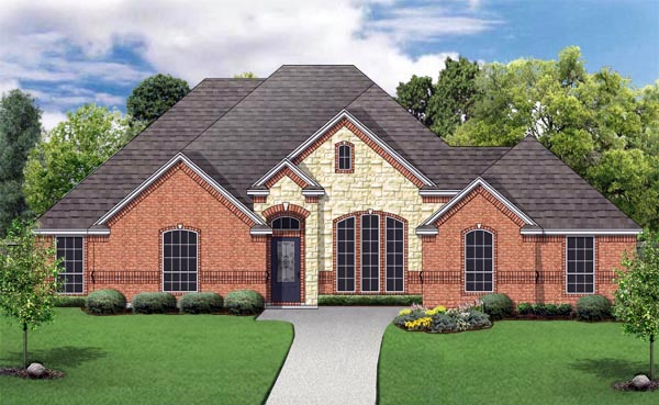 Traditional House Plan 79341 Elevation