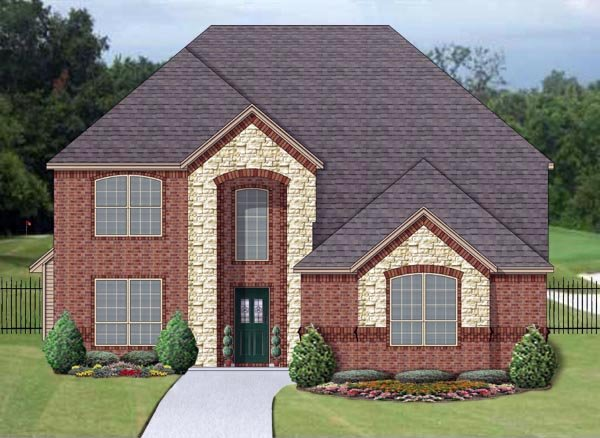 Traditional House Plan 79342 Elevation