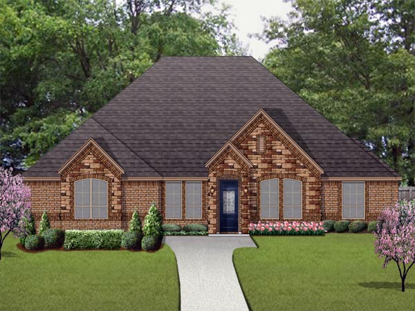 Traditional House Plan 79345 Elevation
