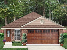 Country Traditional House Plan 79353 Elevation