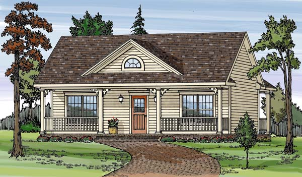 Country House Plan 79501 Elevation