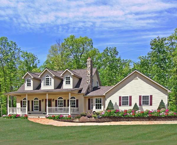 House Plan 79502 Elevation