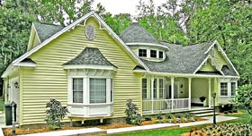 Country Craftsman Traditional Victorian House Plan 79509 Elevation