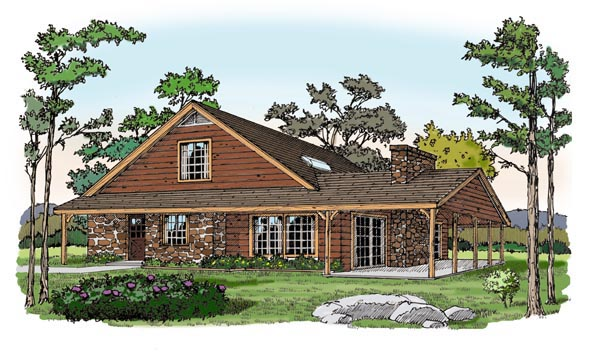 Cottage Traditional House Plan 79523 Elevation