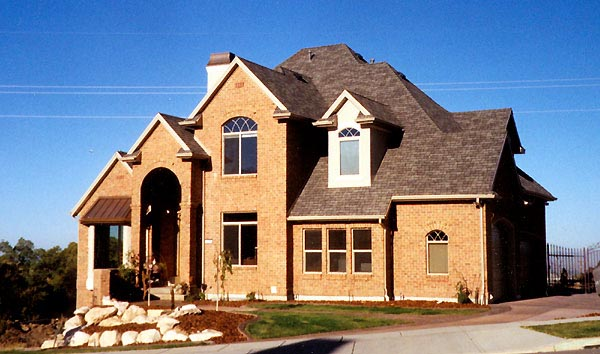 House Plan 79894 | European Style Plan with 2675 Sq Ft, 6 Bedrooms, 4 Bathrooms, 3 Car Garage Elevation