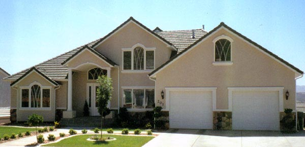 House Plan 79896 | European Style Plan with 2775 Sq Ft, 3 Bedrooms, 3 Bathrooms, 2 Car Garage Elevation