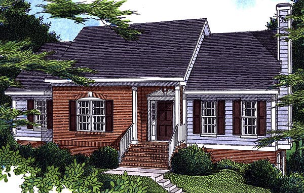 House Plan 80105