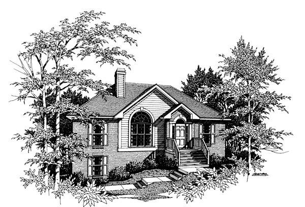 House Plan 80107