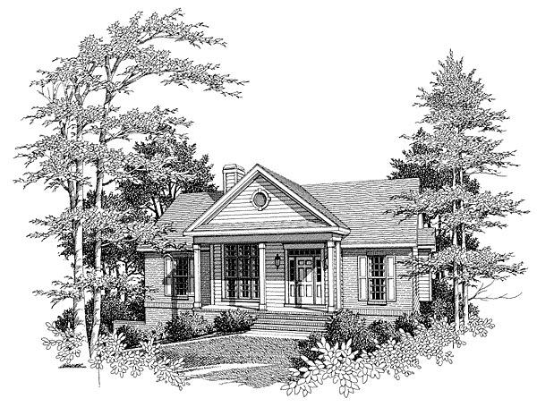 House Plan 80110
