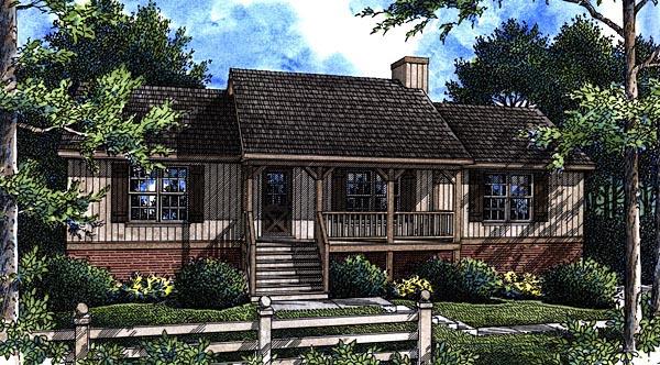 House Plan 80117
