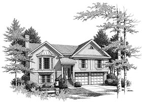 Plan Number 80121 - 1410 Square Feet