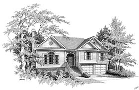 Plan Number 80123 - 1411 Square Feet