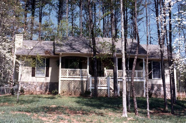 Country House Plan 80125 with 3 Beds, 2 Baths, 2 Car Garage Picture 1