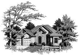 Plan Number 80137 - 1635 Square Feet