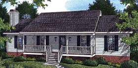Plan Number 80138 - 1677 Square Feet