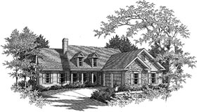 Plan Number 80145 - 1676 Square Feet